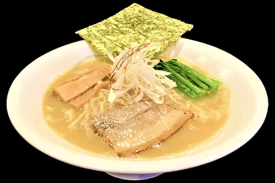 濃厚鶏白湯・吟屋食堂のラーメン