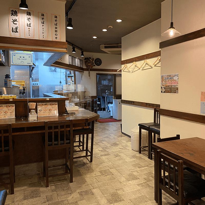 浅草醬油ラーメンきび太郎・内観2