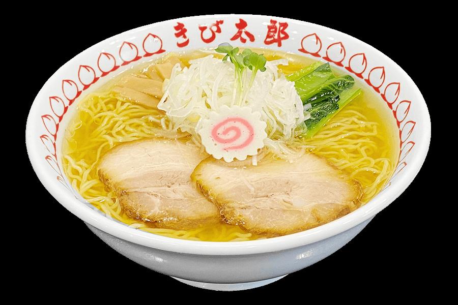 浅草醬油ラーメンきび太郎のラーメン
